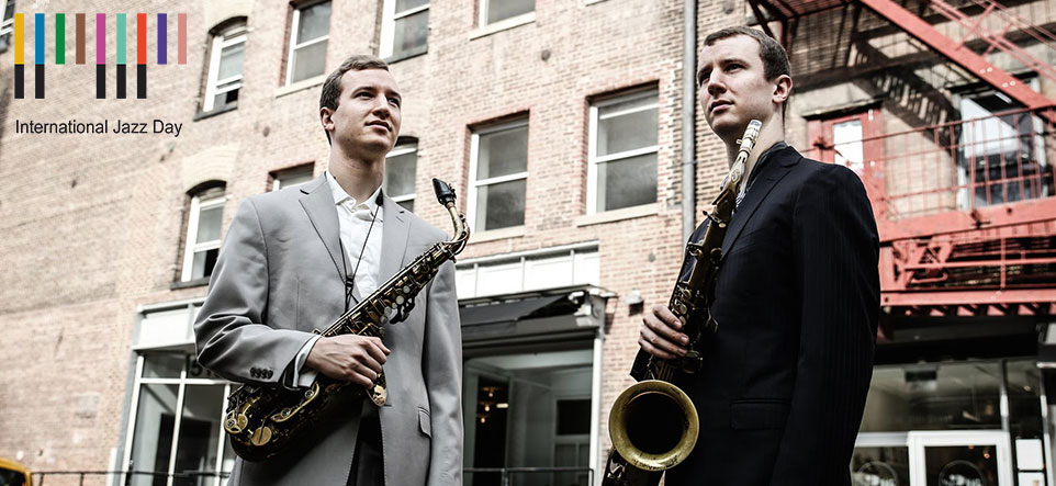 Peter and Will Anderson · International Jazz Day · April 30 · 8pm · $15