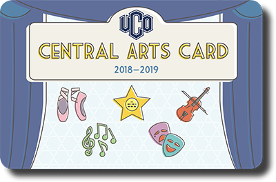 Purchase the Central Arts Card Today!