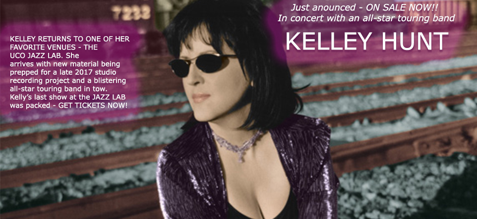 KELLEY HUNT · Friday, Oct 20 · 8pm